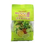 马来西亚LOT100一百份菠萝果汁软糖150g