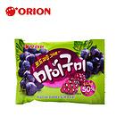 韩国好丽友葡萄QQ糖66g 水果软糖 QQ糖橡皮糖 儿童零食果汁软糖