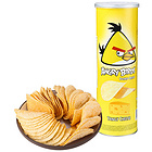 马来西亚进口愤怒的小鸟 香浓芝士味 薯片160g 罐装