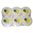 马来西亚 可康(cocon)榴莲味果冻布丁(含椰纤果)118g*6杯