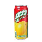 台湾绿力饮料芒果汁味夏日冲饮饮料大罐490ml