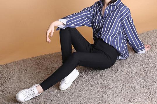韩国 Let's diet提臀瘦身魔术裤-黑色