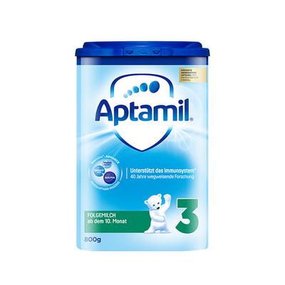 德国原装进口 美乐宝 Aptamil爱他美奶粉 3段 10-12个月 800g/罐