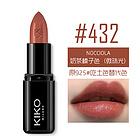 意大利KIKO 4系列丰盈滋养口红#432脏橘色 3g 持久滋润不易脱色