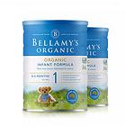 澳大利亚原装进口 Bellamy's/贝拉米 婴幼儿有机奶粉1段 2罐装 新老包装随机发货