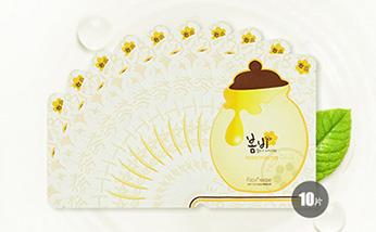 韩国春雨papa recipe蜂蜜保湿面膜 营养补水  10片/盒
