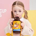 杯具熊儿童保温杯 新款限量十二星座系列 儿童杯不锈钢保温杯550ML 金牛座