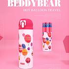 杯具熊保溫杯不銹鋼成人保溫杯450ml 長效保溫大容量 熱氣球款