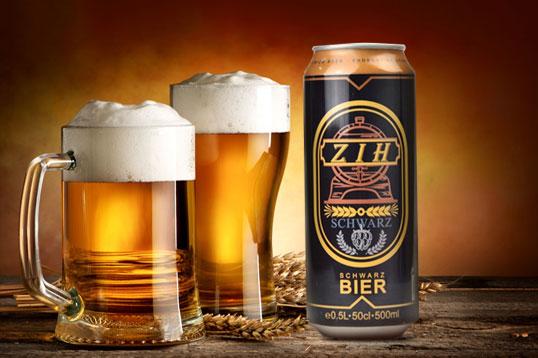24瓶装德国克雷斯顿啤酒 黑啤500ml/瓶