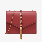 CHARLES&KEITH CK2-20160030 流苏链条包星空信封包  女包 手提包 红色
