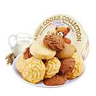 马来西亚进口零食 Mas麦尔斯小熊松脆曲奇饼干400g