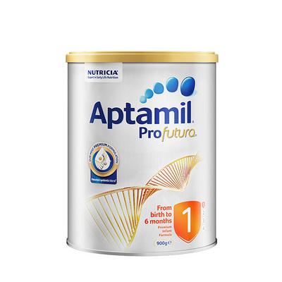 澳洲爱他美白金版婴儿奶粉1段0-6个月900g  新老版本随机发货