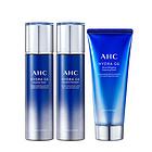 【香港直郵】韓國AHC G6超越爽膚水乳液+洗面奶補水保濕三件套裝