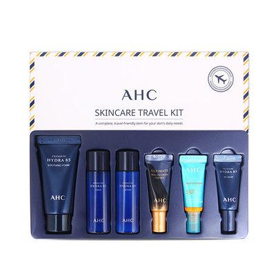 【香港直邮】AHC玻尿酸中样旅行装六件套 补水护肤品套盒