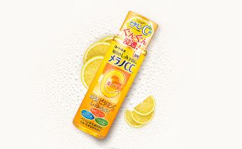 肌研RIHTO乐敦CC美白化妆水维生素C爽肤水清新柠檬味170ml 去痘祛斑保湿