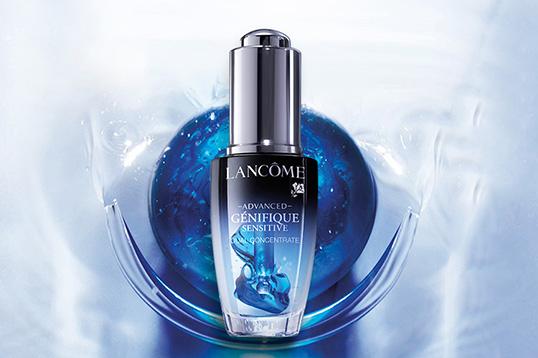 【香港直邮】法国兰蔻Lancome小蓝瓶修护面部肌底补水保湿舒缓安瓶精华液 20ml