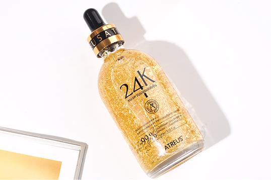 泰國ATREUS24K黃金精華液補水保濕收縮毛孔 100ml/瓶