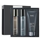 【香港直邮】韩国AHC男士护肤品套装水乳三件套