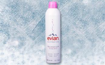 依云噴霧 肌膚愛喝的天然礦泉水 Evian阿爾卑斯山化妝水爽膚水  不含抗生素 真空裝