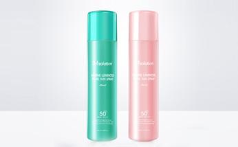 韩国JM珍珠喷雾1瓶 180ML/瓶+JM玫瑰喷雾1瓶 180ML/瓶