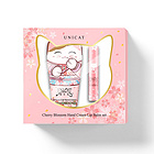 【中文标】中国台湾变脸猫甜蜜樱花套盒(40ml手霜+2.3g唇膏)