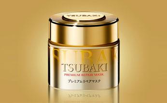 【香港直郵】日本資生堂TSUBAKI絲蓓綺0秒修復新款金色發膜180g