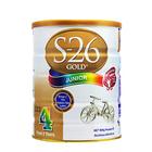 新西兰原装进口 S26惠氏金装婴儿奶粉4段  2岁以上 900g/罐