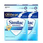 美国原装进口 Similac雅培 Advance奶粉1段 便携条 17.4g×16条/盒*5