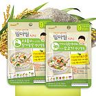 """韩国每日金典 妈妈咪""""咕嘟咕嘟"""" 5种绿色蔬菜和可口的牛肉营养米粥(适合9个月以上的宝宝食用)"""
