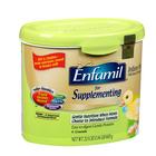 美国原装进口 Enfamil美赞臣 Supplementing 母乳补充婴儿配方奶粉 610g/罐