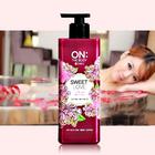 韩国 LG 红色蜜爱香水芬芳沐浴露   保湿香氛 500ml/瓶