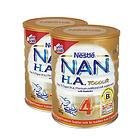 澳大利亞原裝進口 Nestle雀巢嬰兒奶粉 NAN HA 超級能恩4段 2罐裝