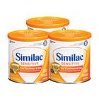 美国原装进口 Similac雅培 Sensitive抗过敏防胀气 婴幼儿奶粉1段 357g/罐*3