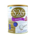 新西兰原装进口 S26惠氏金装婴儿奶粉1段 0-6个月 900g/罐